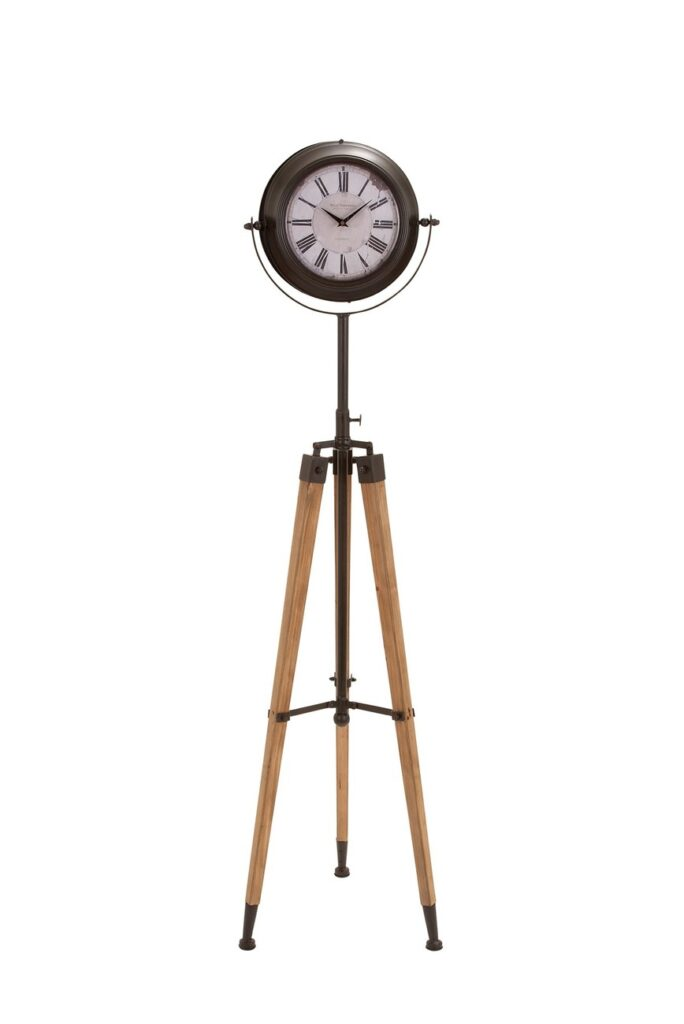 Willow Row Metal Tripod Floor Clock $162.97 https://fave.co/2IeNJHU