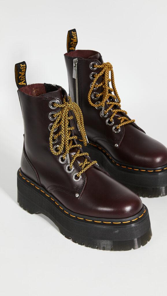 Dr. Martens Jadon Max 8 Eye Boots $200.00
