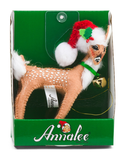 4in Cozy Christmas Fawn $7.99