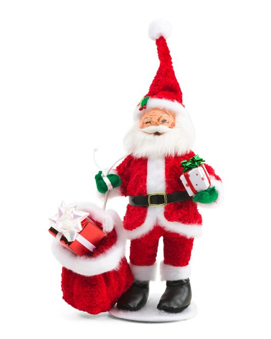 10.5in Merrymint Santa $14.99