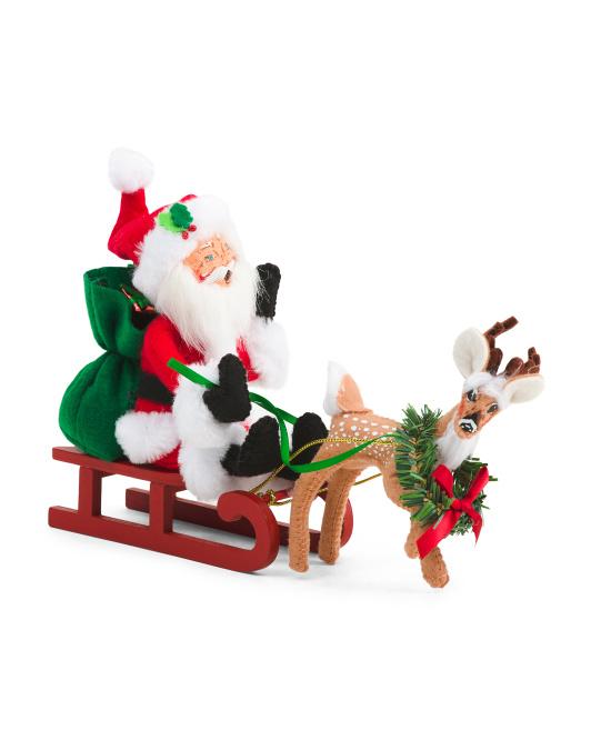 5in Santa\'s Take Off $16.99