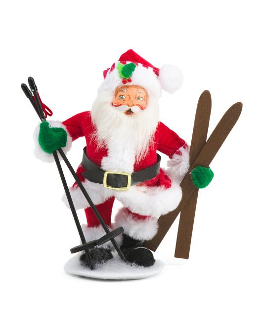 6in Shimmer Santa $12.99
