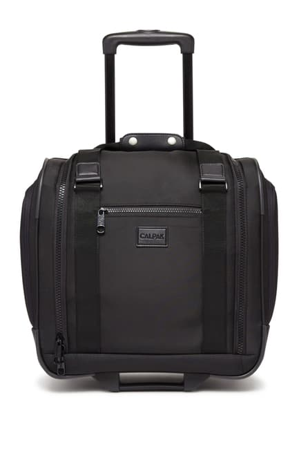 "Murphie 15.5"" Under-Seat Soft Sided Carry-On Suitcase $69.97"