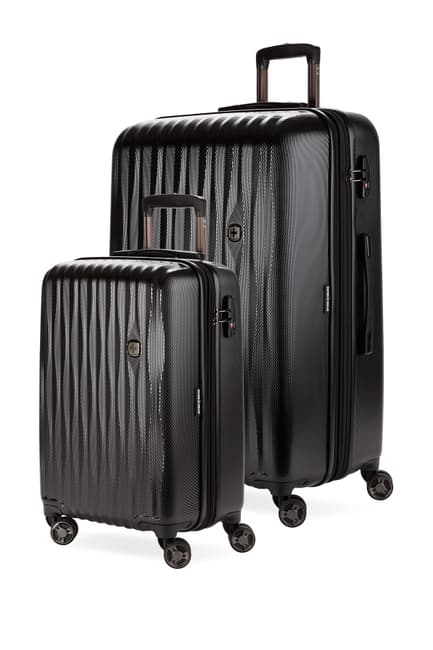 SwissGear Energie Explandable Hardside Spinner Luggage 2-Piece Set $209.97