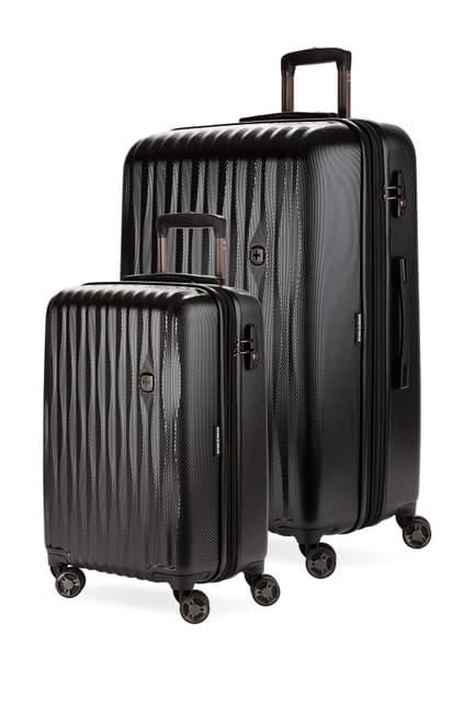 SwissGear Energie Explandable Hardside Spinner Luggage 2-Piece Set $209.97