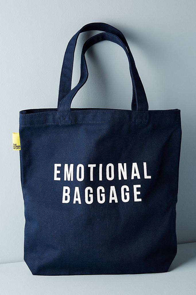 The School of Life Emotional Baggage Tote $50.00