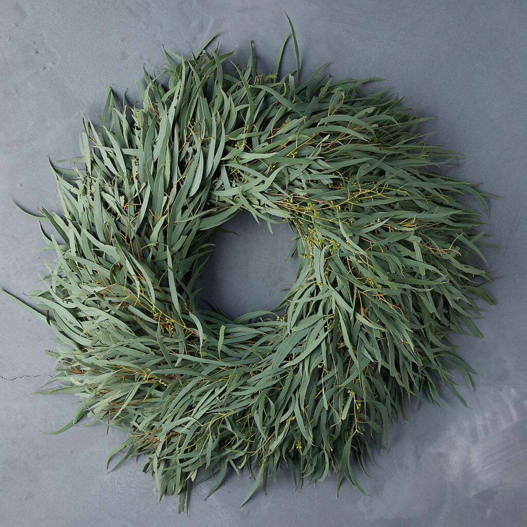 Fresh Eucalyptus Wreath $78.00