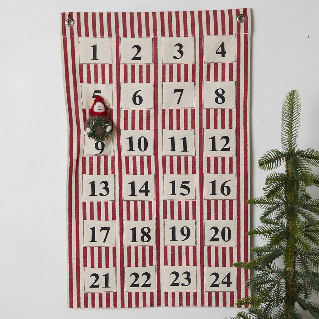 Advent Calendar Wall Hanging $58.00
