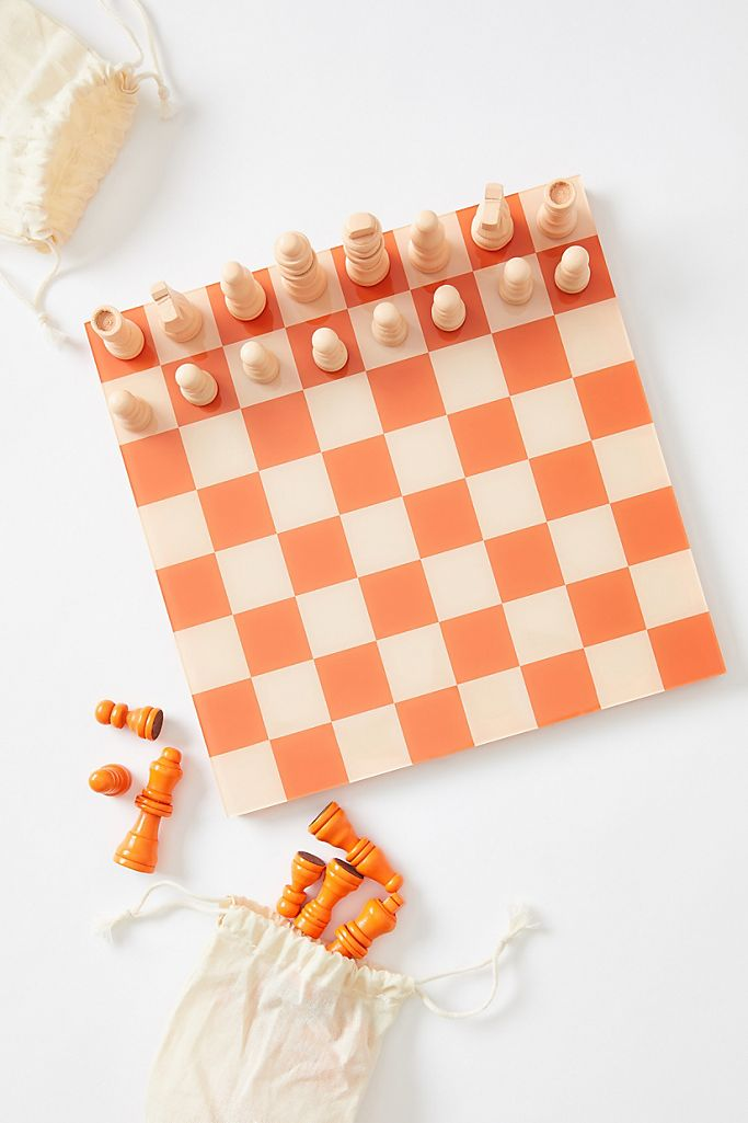Printworks for Anthropologie Chess Game $58.00