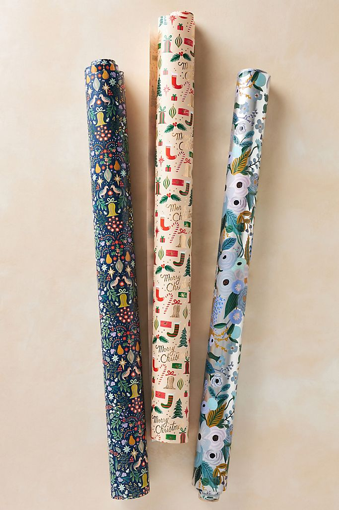Rifle Paper Co. Holiday Wrapping Paper Roll $10.00