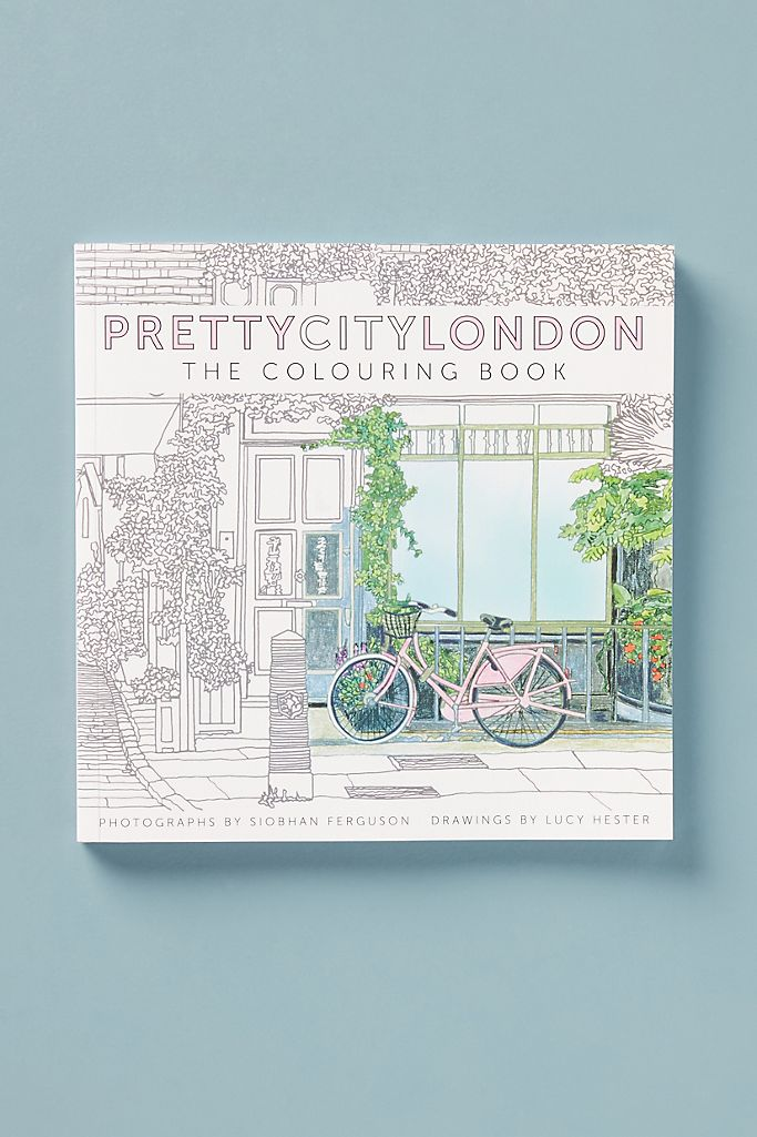 Pretty City London Coloring Book $23.95