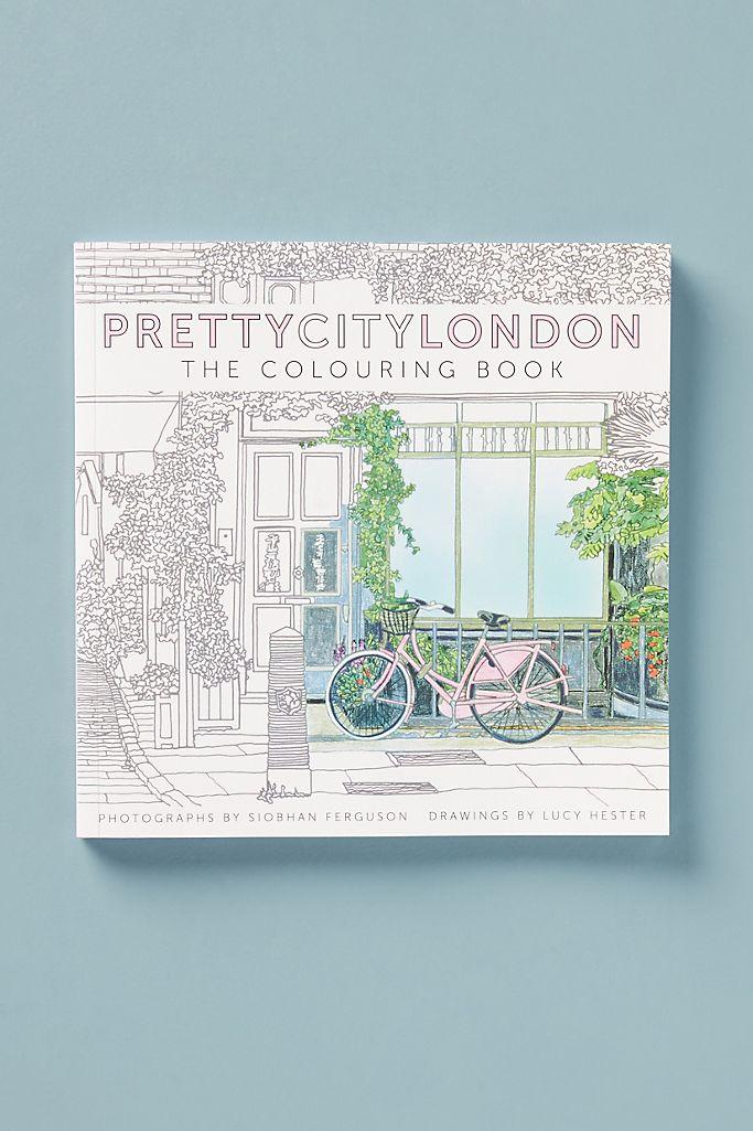 Pretty City London Coloring Book $23.95