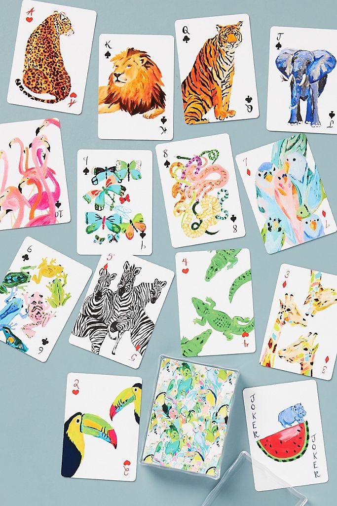 Megan Carn Safari Playing Cards $21.00