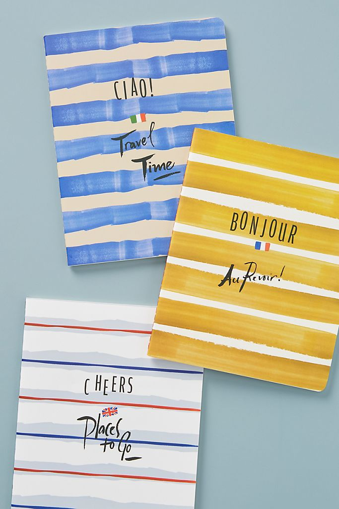 Ciao Journals, Set of 3 $18.00