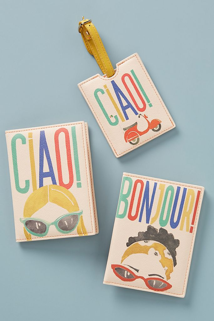 Ciao Passport Holder $28.00
