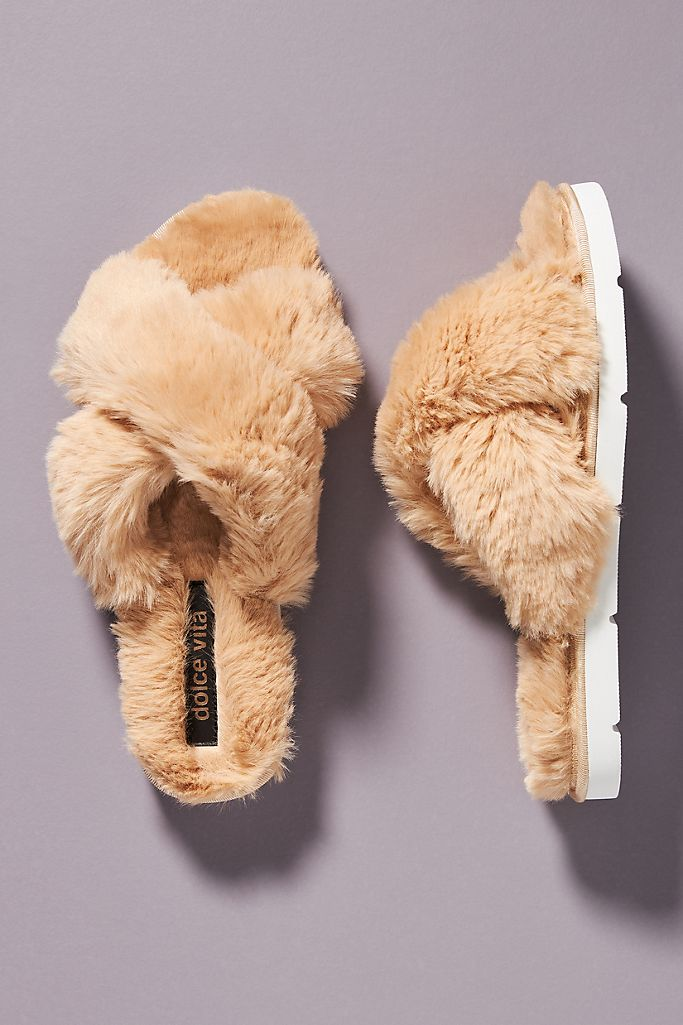 Dolce Vita Pillar Slippers $60.00