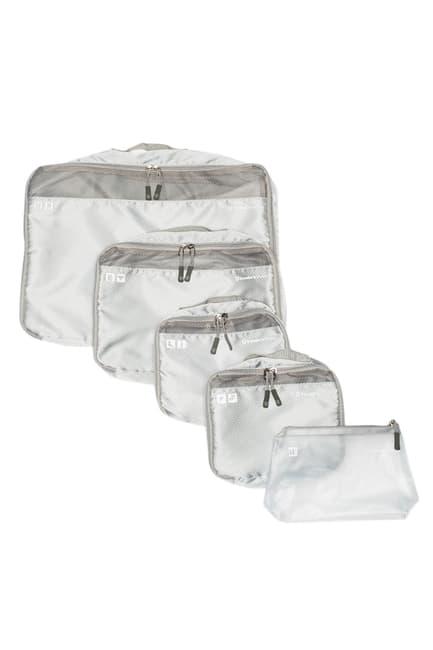Traveler\'s Choice 5-Piece Packing Cube Set $29.97