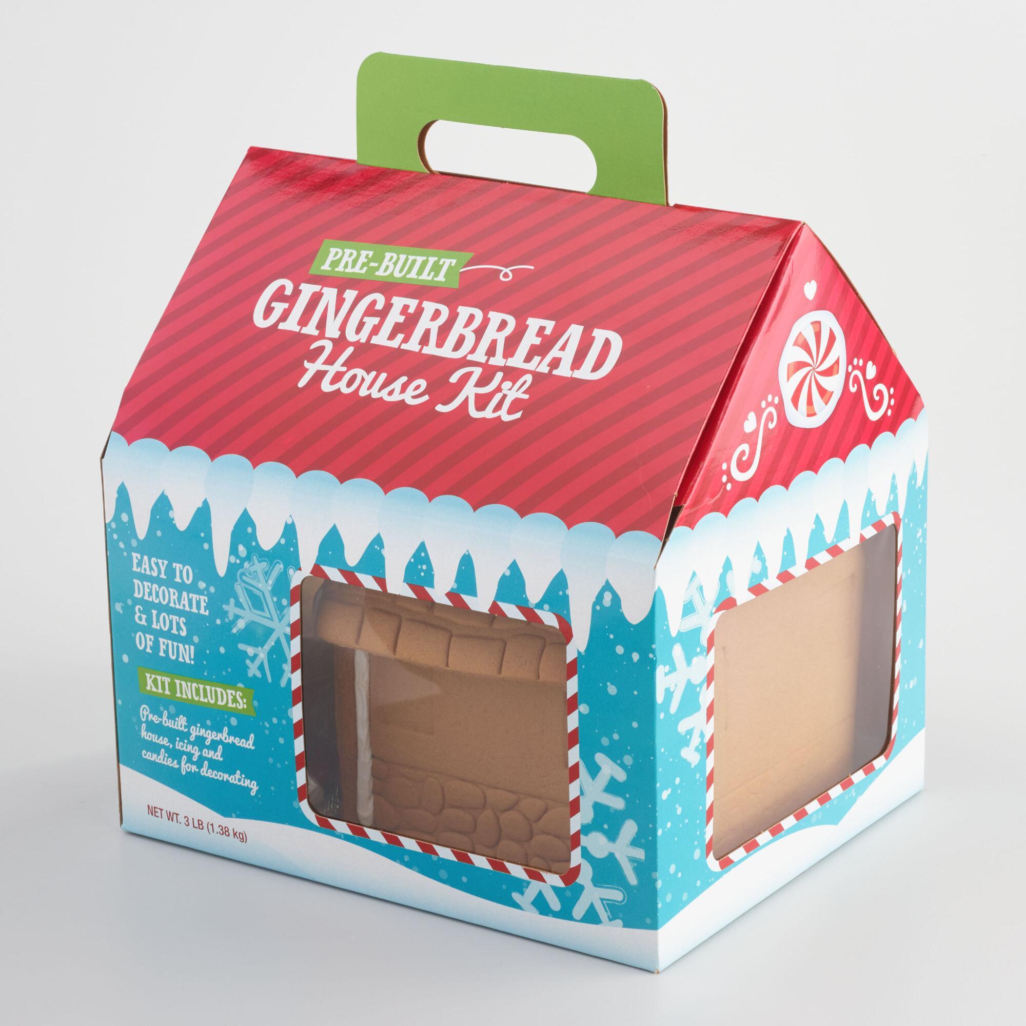 Prebuilt Gingerbread House Kit $19.99