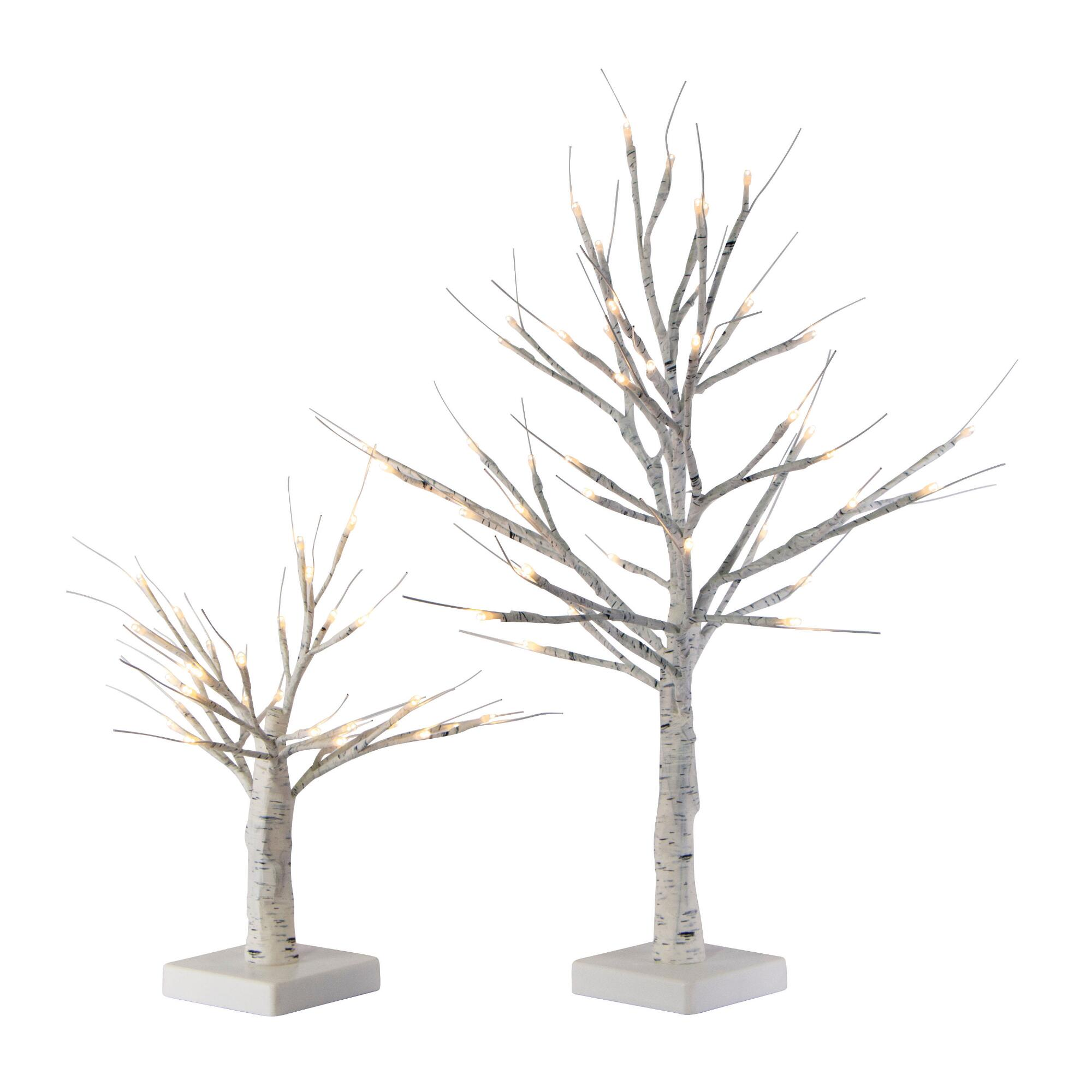 White Birch Micro Led Battery Operated Tree Decor $16.99-$24.99