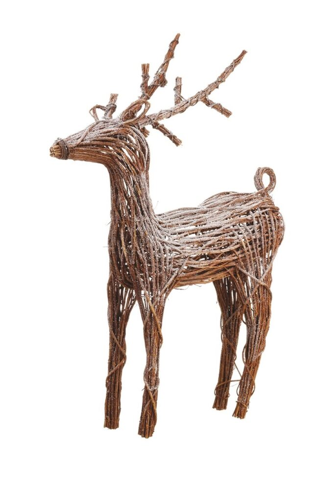 """ALLSTATE 49\"""" Battery Operated Snow Reindeer with Light $270.97"""