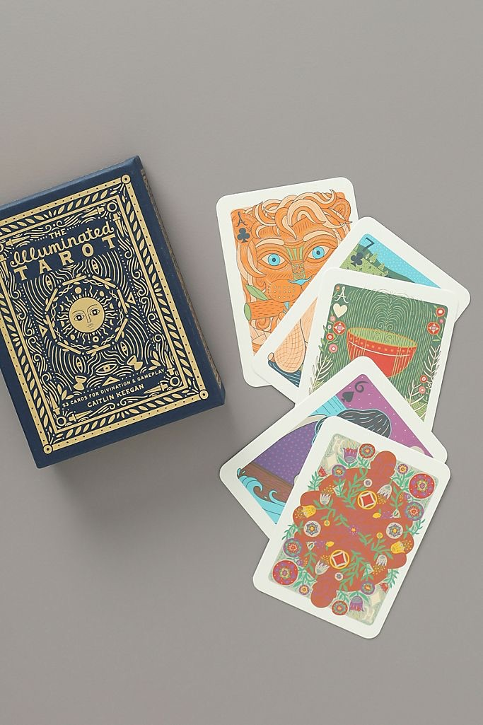 The Illuminated Tarot $18.99
