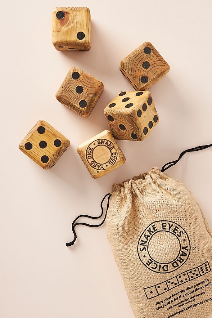 Outdoor Yard Dice $58.00