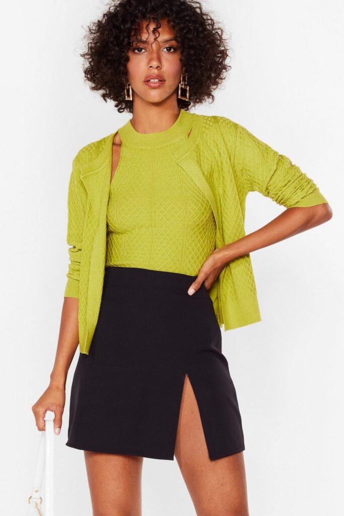 Cards on the Cable Knit Cardigan and Top Set $31.20