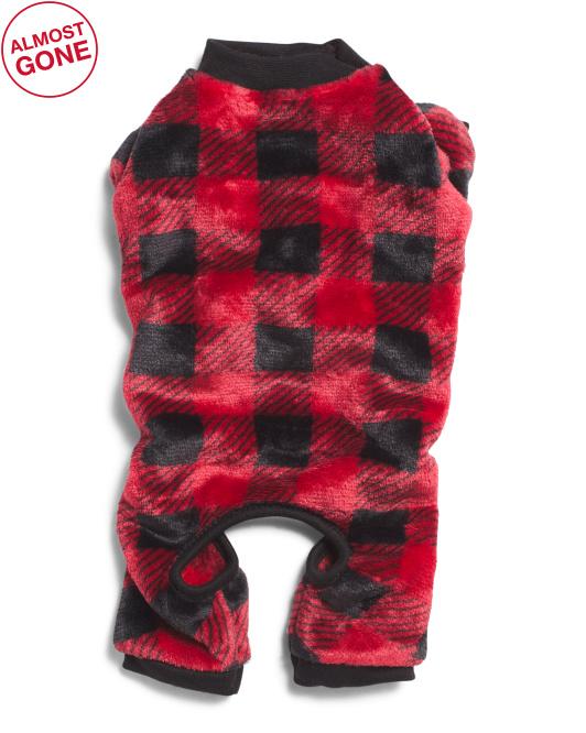 LOVE GEAR Printed Holiday Pet Pajamas $12.99