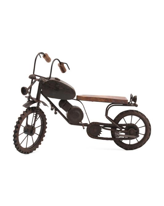 UMA Metal Motorcycle Figurine $19.99