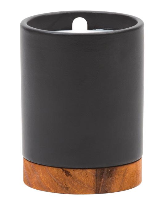 NORTHERN LIGHTS 8oz Black Oak & Leather Candle $6.99