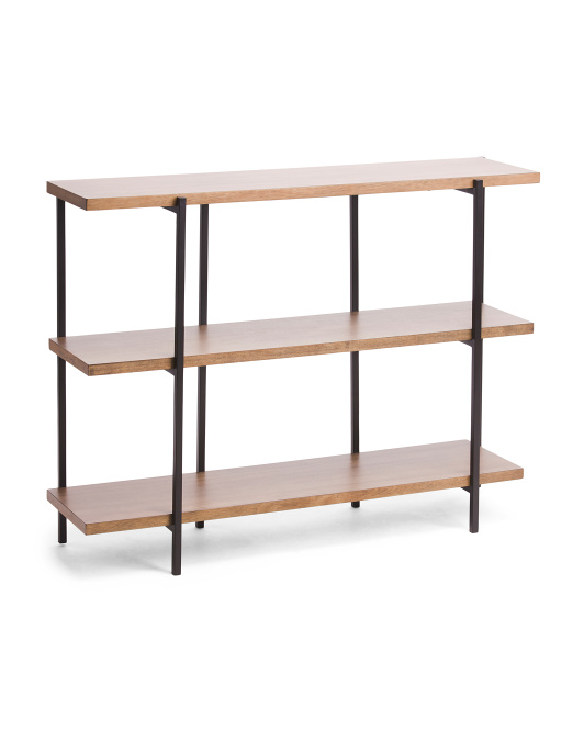 DKNY Wood & Metal Console Table $129.99