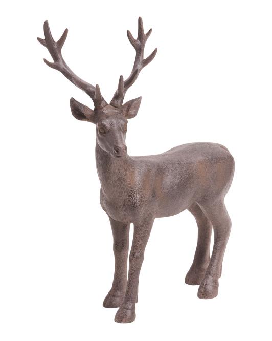 SAGEBROOK HOMEResin Deer Decor$29.99