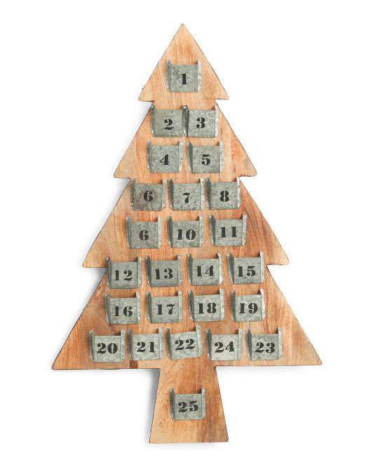 RIDGEFIELD HOME23x36 Advent Tree$49.99