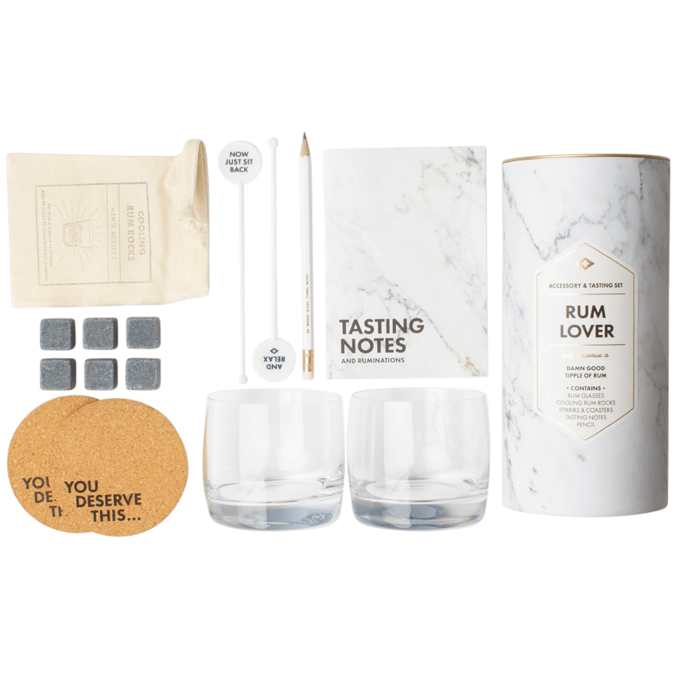 Atlantic Folk Rum Lover\\\'s - Accessory & Tasting Kit $60.00