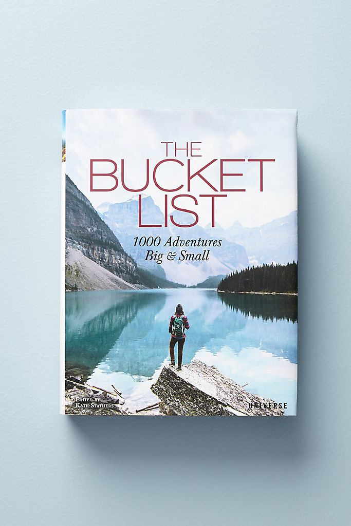 The Bucket List $35.00