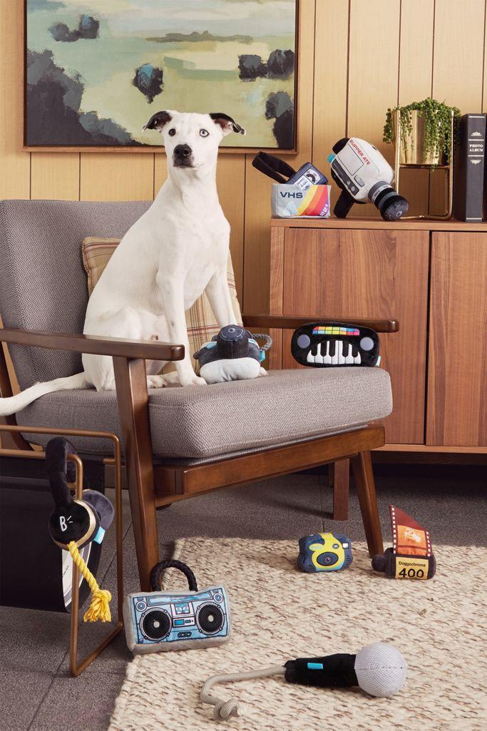 BARK Point & Chew'd Camera Dog Toy $11.99