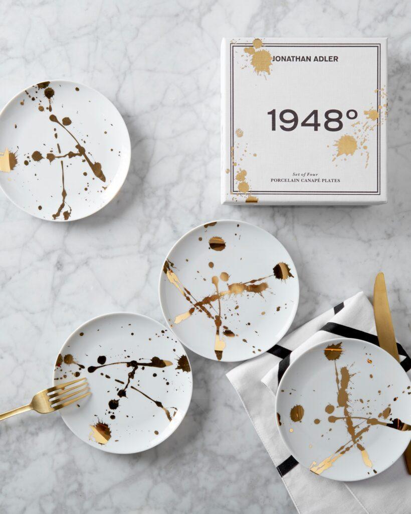 Jonathan Adler 1948° Canape Plate Set $98.00