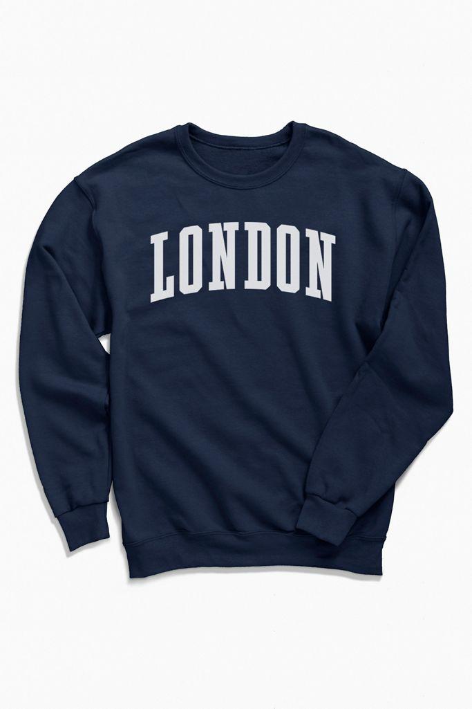 Travel Apparel London Crew Neck Sweatshirt $59.00