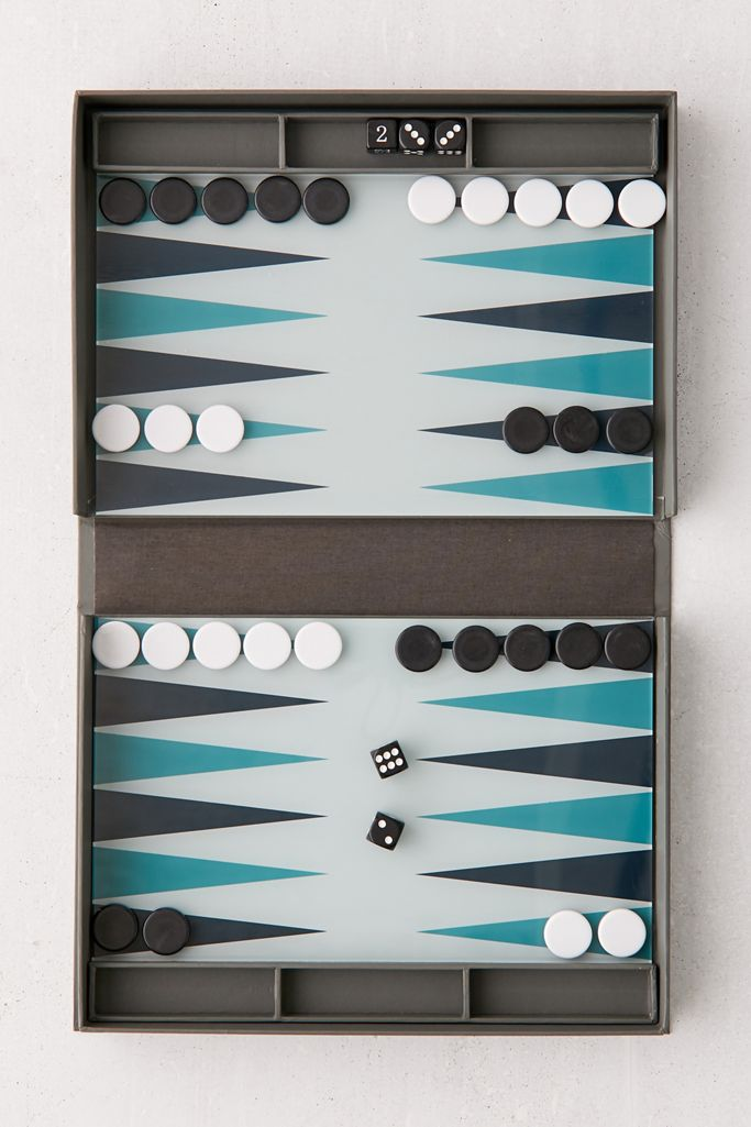 PRINTWORKS Backgammon Set $47.00