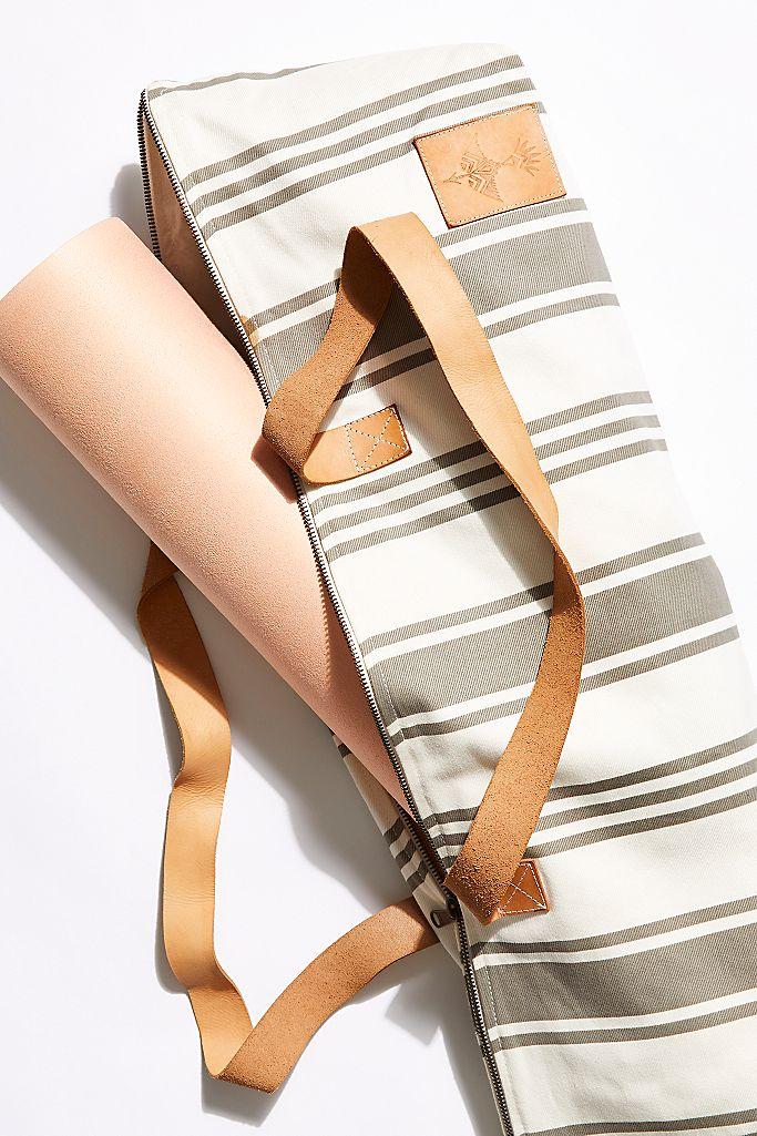Striped Yoga Bag $78.00
