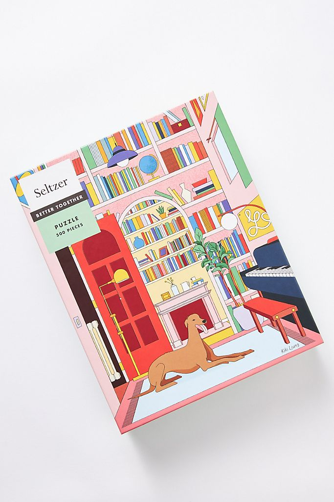 Greyhound Library Puzzle $24.95