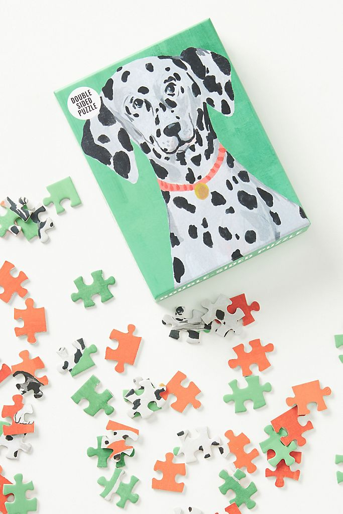 Pooch Double-Sided Puzzle $16.00