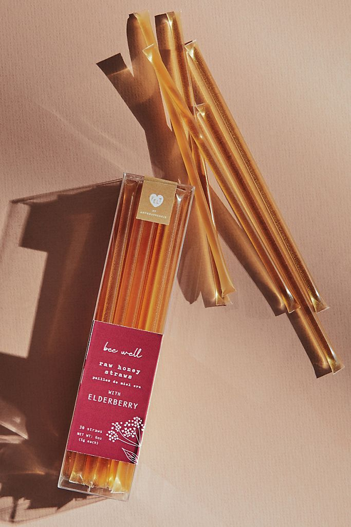 Heartfelt by Anthropologie Bee Well Raw Honey Straws $20.00