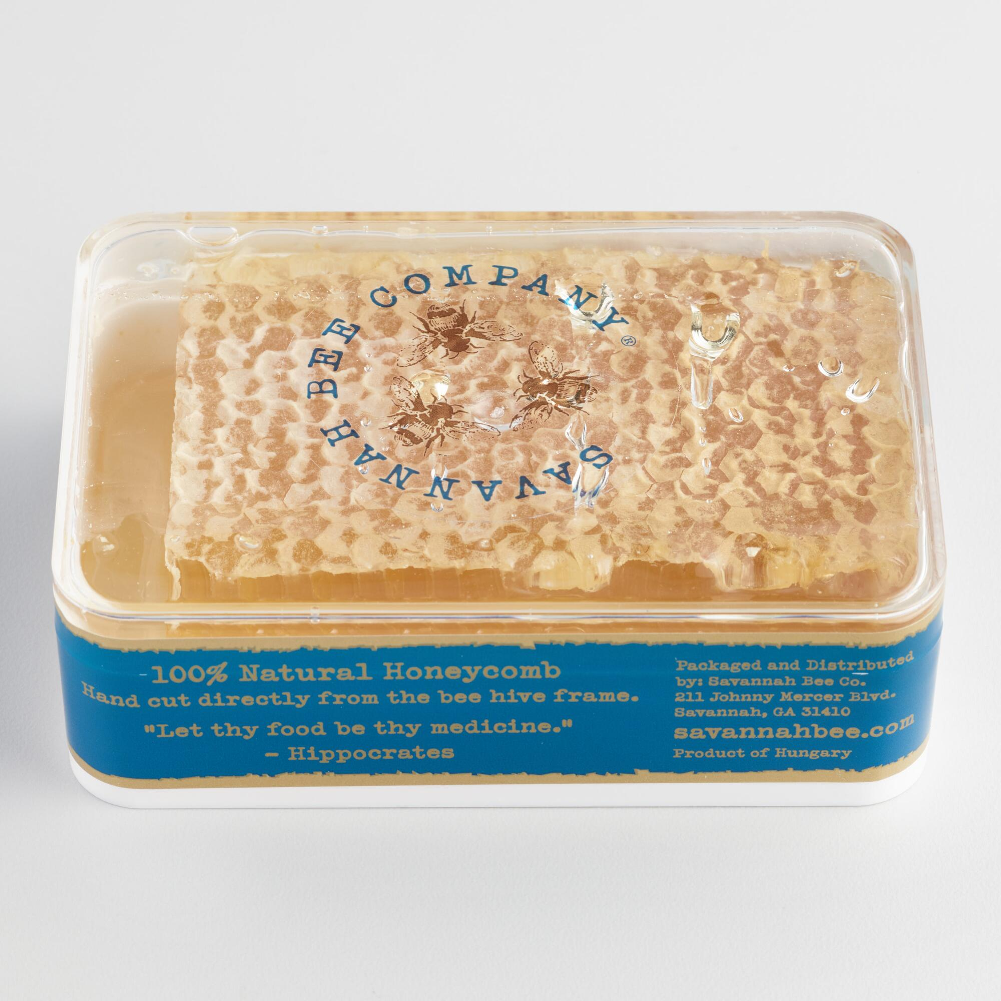 Savannah Bee Company Raw Acacia Honeycomb $12.99