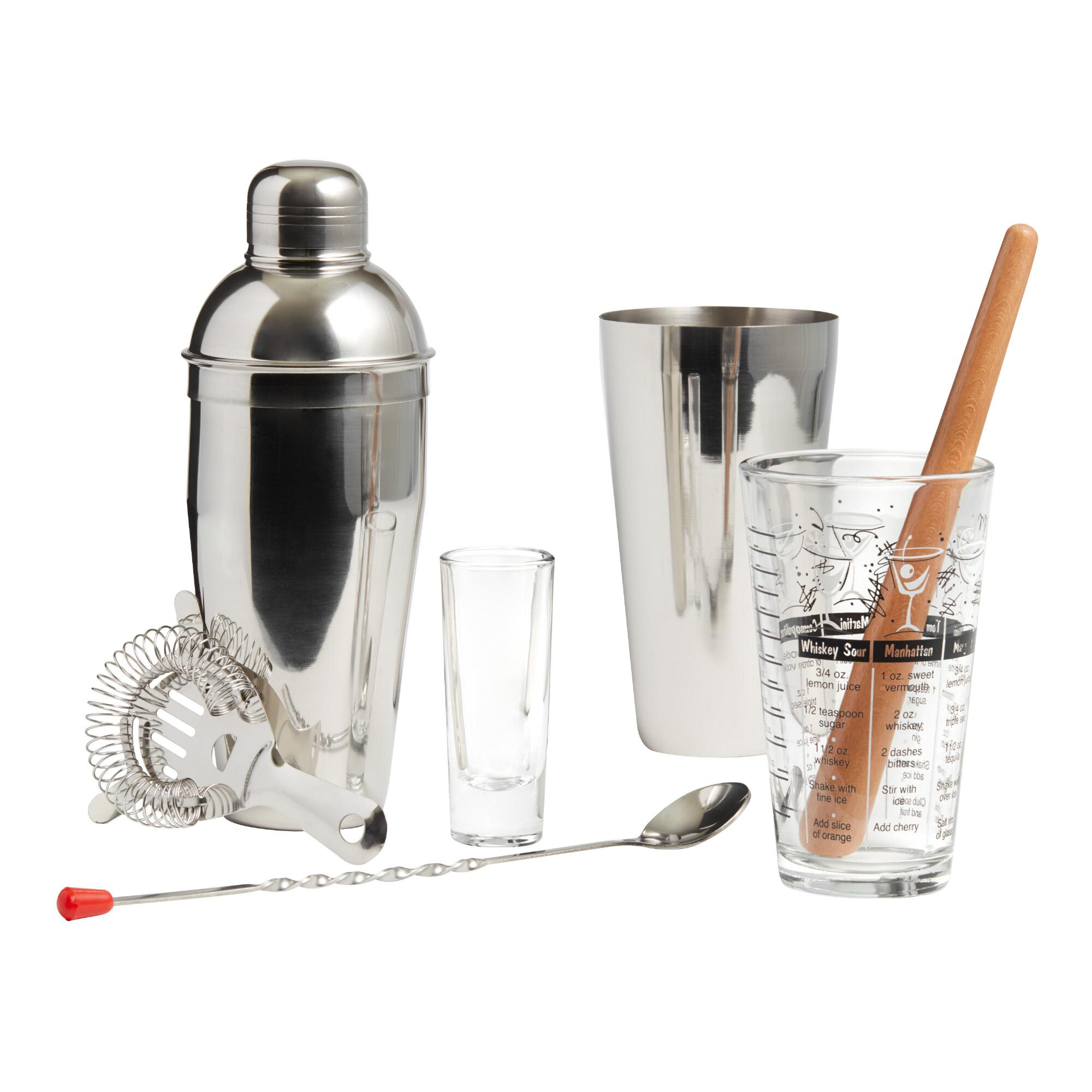 Mixologist Home Bar Tool 9 Piece Set $29.99