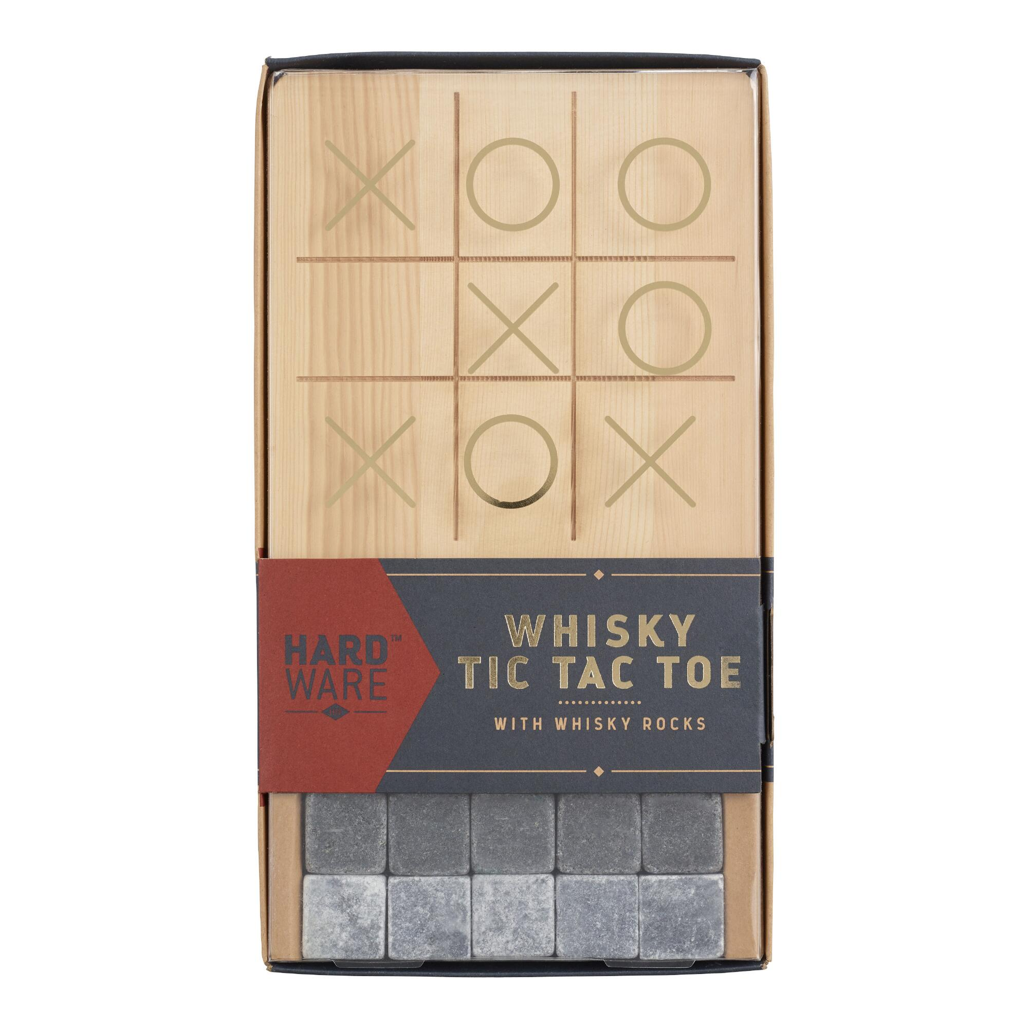 Gentlemen\\\'s Hardware Whisky Tic Tac Toe Gift Set $17.99