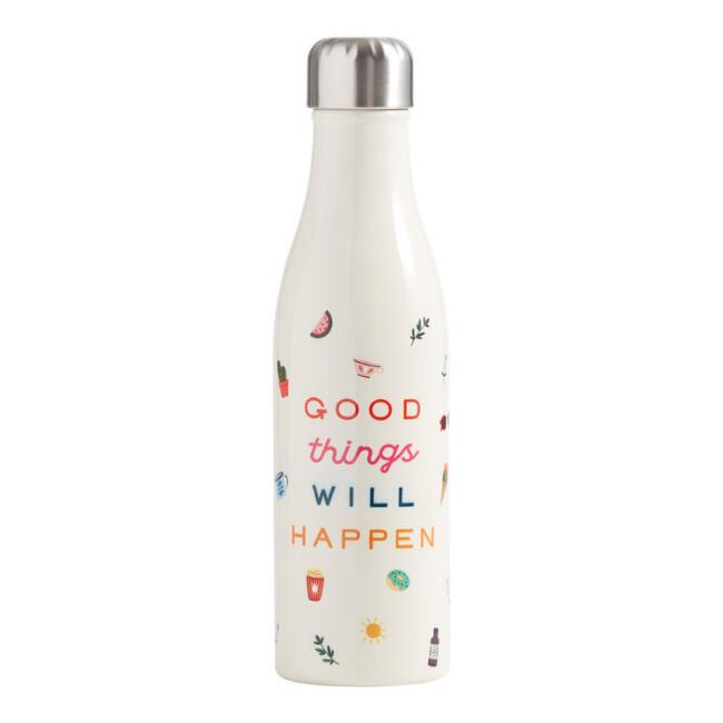 Studio Oh Good Things Insulated Stainless Steel Water Bottle $24.99