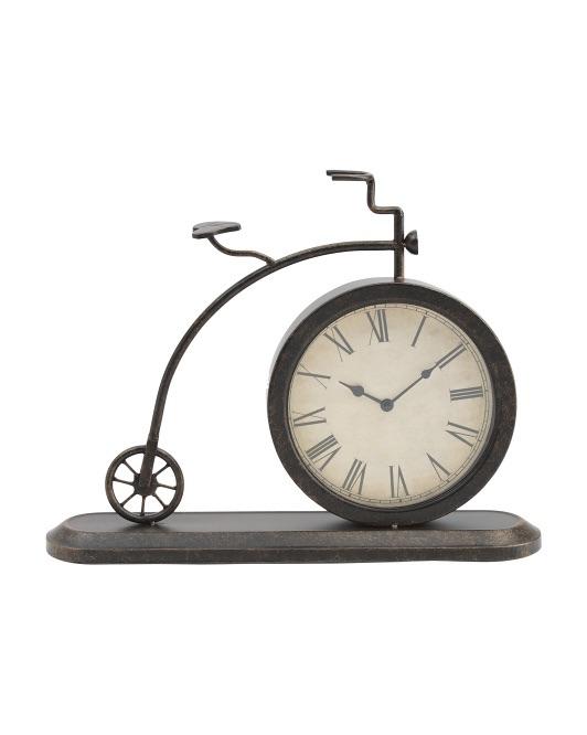 Metal Clock Table Decor $29.99 https://fave.co/33T0uQ8