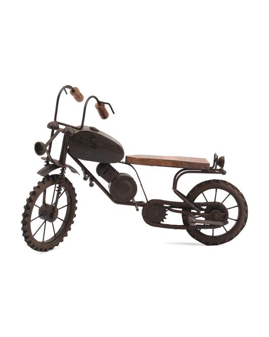 UMA Metal Motrocycle Figurine $15.00