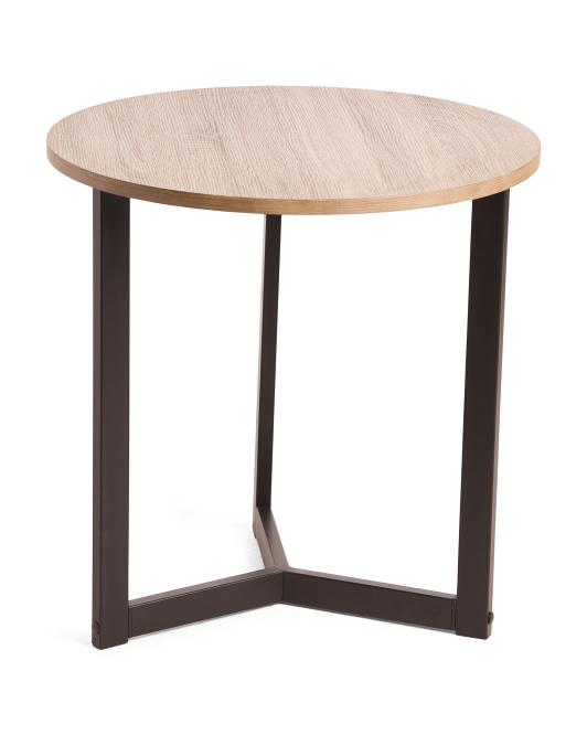 SAFAVIEH Leonard Mid Century Modern Wood End Table $59.00